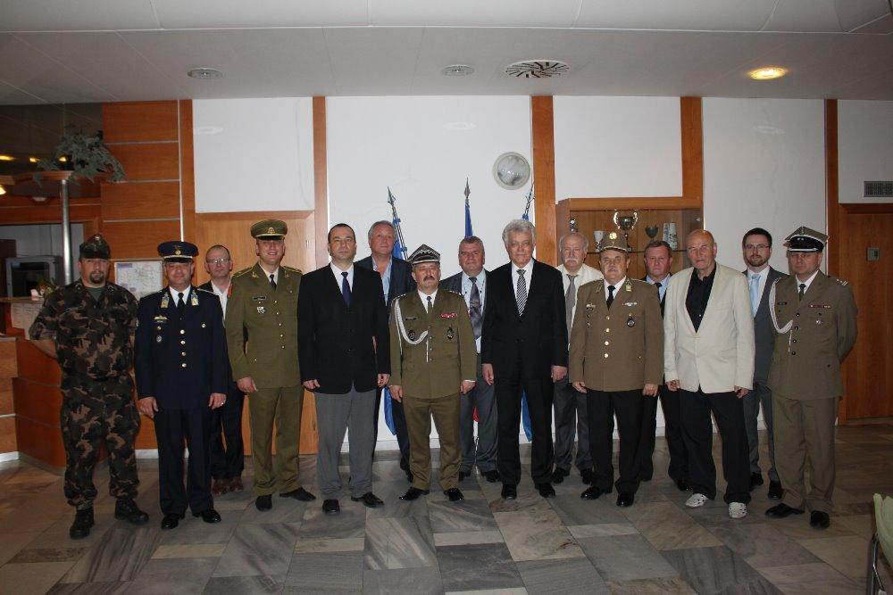 Setkání profesních organizací armád států Viszegradské čtyřky