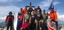 Mezinárodní vojenský výstup na Kriváň 2018